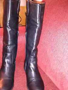 For sale ladies new black boots  $60 Westend