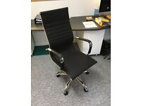 Eames style Office chair (faux leather)