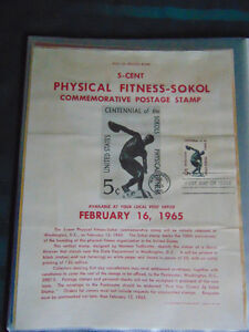 United States First Day of Issue Stamps , 1963-1966 London Ontario image 5