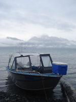 1994 19 foot Hewescraft Searunner aluminum fishing boat