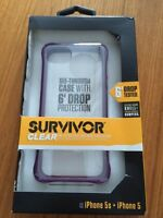 Griffin Survivor Clear Slim case