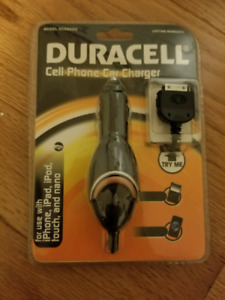 Duracell cellphone Car Charger