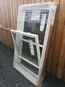 4 NEW 'Vinylbilt' Double hung WINDOWS