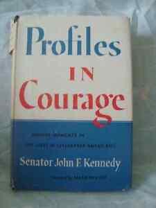 Senator John F. Kennedy's Profiles in Courage Book