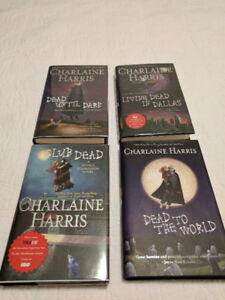 Hardcover Books by Charlaine Harris ~ Sookie Stackhouse Series