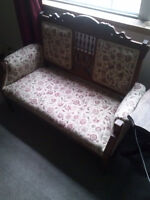 Antique Settee and matching Chair....Absolutely Gorgeous..!!