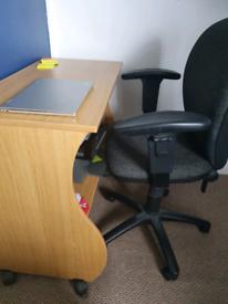 Desk & Desk Chair