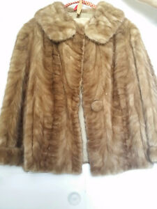 Fur Real Mink Coat- paws long