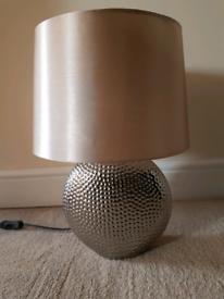 Bronze colour table lamp