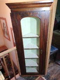 1930s corner cabinet.