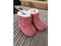 Girls boots 0-3 months - new with tags