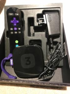 Roku 3 media player for sale