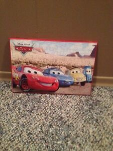 Cars Puzzle Plak Art