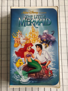 Rare Banned Little Mermaid Cover Disney VHS Movie