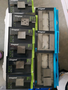 New in boxes modern new adorne light switches