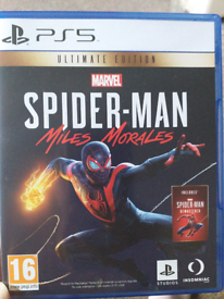 Ps5 spiderman miles morles ulimate edition