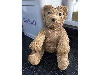 Straw Teddy Bear