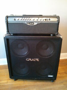Line 6 Head Unit & CRATE 4x12 Cabinet Cornwall Ontario image 2