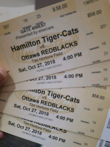Ticats vs REDBLACKS