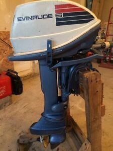 6hp Evinrude Outboard Motor