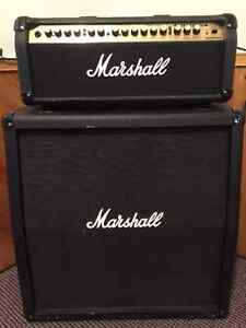 ***  SOLD ***     Marshall Valvestate Head and 4x12 Cab