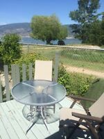 Steps from the Beach! Okanagan Vacation Rental