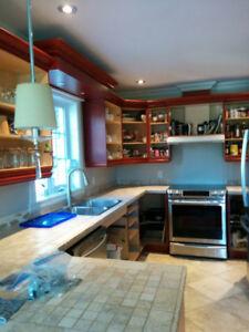 Restauration D armoires de cuisines
