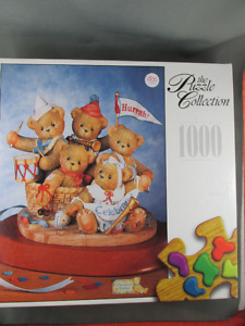1000 Piece The Puzzle Collection Cherished Teddies New Sealed