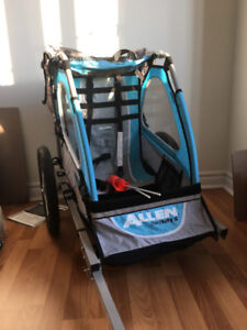 Allen Sports Premier 1-Child Jogger/Bike Trailer