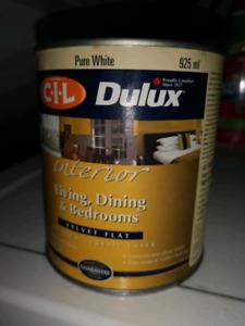 Deluxe pure White cil interior  flat white