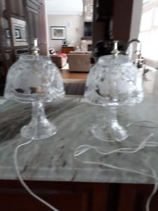 Antique Glass Lamps