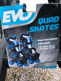 Adjustable kids quad skates free to collector