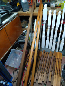 Railings, balusters, and posts