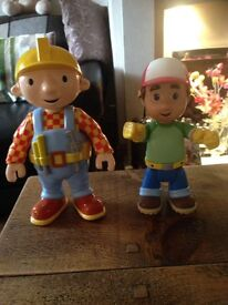 Talking Bob the Builder and Handy Manny