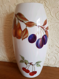 Royal Worcester Evesham Gold Tall Vase. New.