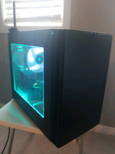 RGB Compact ITX GAMING PC i5 4670, GTX 950, 16gb ram, 256gb ssd