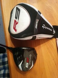 Taylor Made R9 mens left hand stiff shaft
