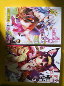 No game no life light novel 1 and 3