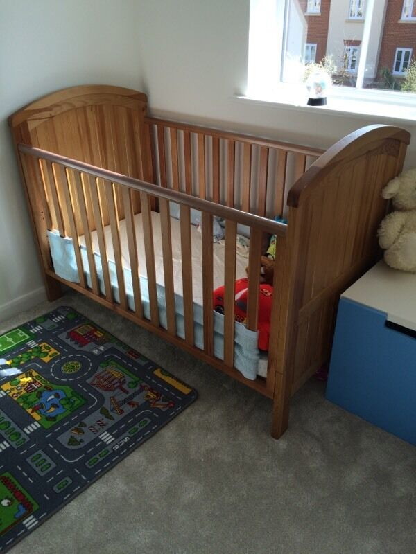 Mothercare westbury cot bed in buy sale and trade ads for Furniture kingdom benfleet