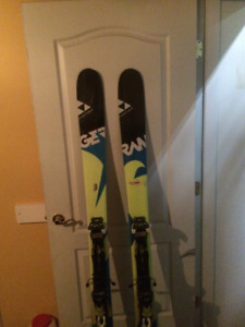 Ski fischer Ranger 108 TI (182 cm)+ Bindings Fisher Adrenalin 13