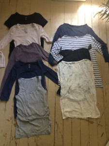 Maternity Clothes Lot (with Nursing Bra) - Size Small