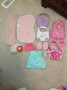 Various baby girls items