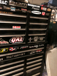 Fully loaded 2 tier toolbox
