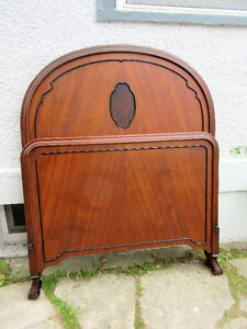 Attractive Antique (c1930) Single Bed 100% Original