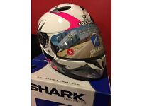 Shark woman's motorbike helmet Brand New