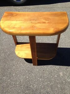 "Vintage Wooden Table. 24""X12""X23"" high"