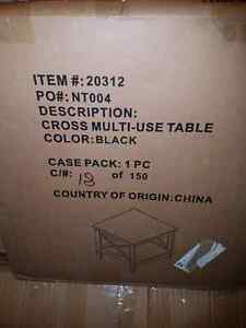 New in Box CROSS MULTI-USE TABLE