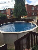 Installation of above ground pool/ Pool Maintenance