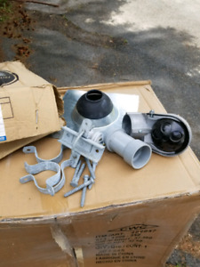 For sale Steel service mast kit for 200 amp