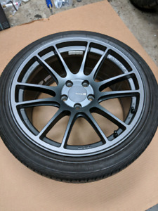 Mags roues enkei GTC01RR 5x112 mercedes amg audi s4 MK7 possibl
